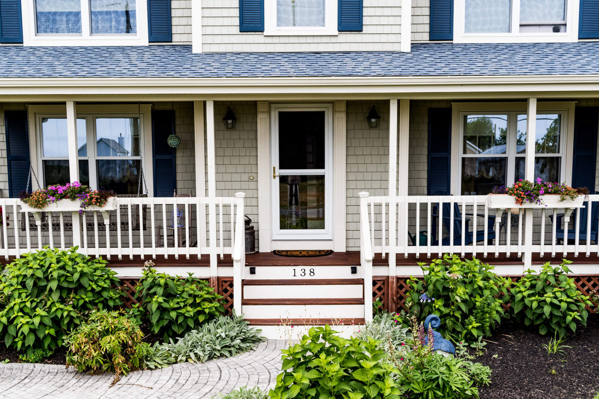 Vinyl siding, replacement roof, & windows in MA by Marshall Building & Remodeling