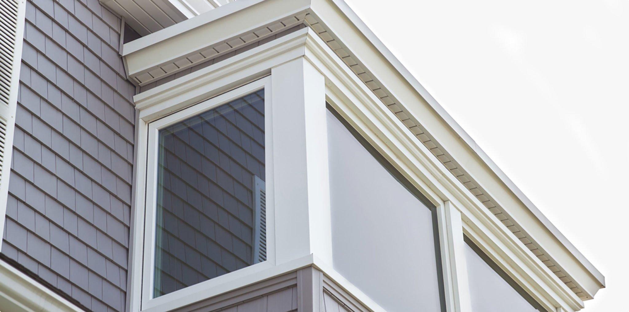 Granite Gray CertainTeed Ceder Impressions Vinyl Siding in Rhode Island