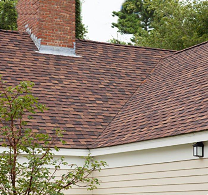 CertainTeed Landmark Resawn Shake Roof on Rhode Island Home