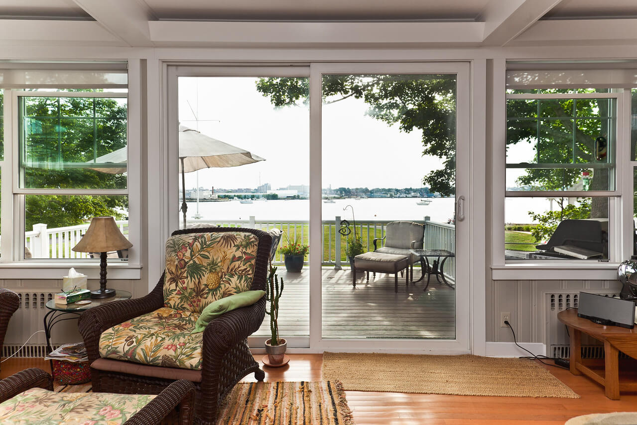 Harvey Patio Door and Windows Installed in Rhode Island by Marshall Building & Remodeling