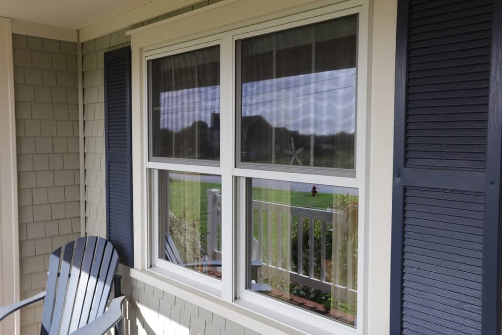 Window Trim Detail on Windows Installed by Marshall Building & Remodeling in Rhode Island