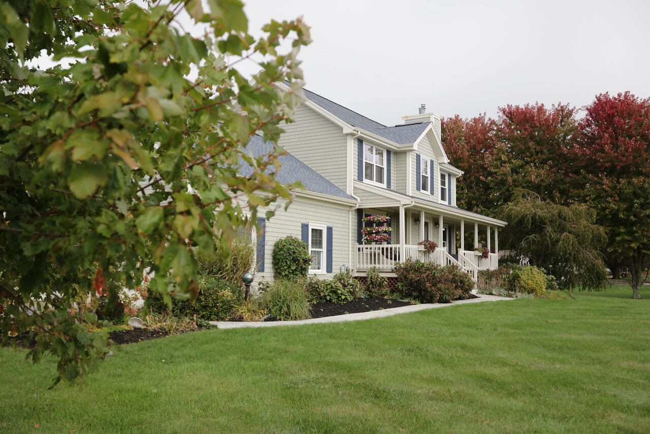 Colonial Home Exterior Remodel by RI & MA Contractors Marshall Building & Remodeling