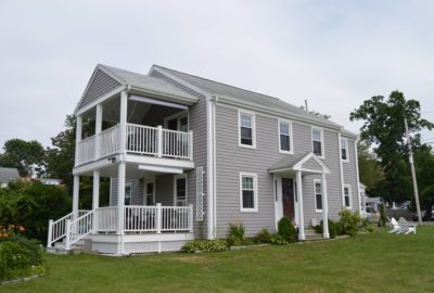 New Deck, Siding & Windows Installed on Bethany Ingram's Home by RI & MA Contractors Marshall Building & Remodeling