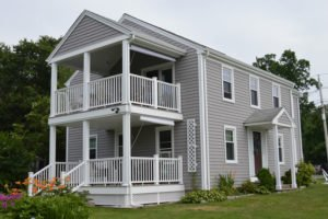 Remodeled Home Exterior in RI by Contractors Marshall Building & Remodeling