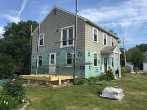 Ingram Home During Remodel by RI Contractors Marshall Building & Remodeling