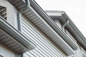 Gutters, Trim, & soffit details on a home in RI by Marshall Building & Remodeling