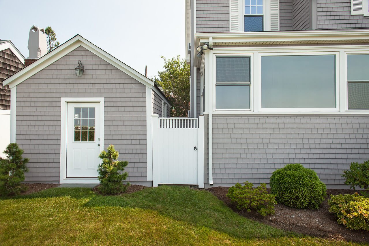 New Vinyl Siding that Looks Like Real Wood Installed on RI Home
