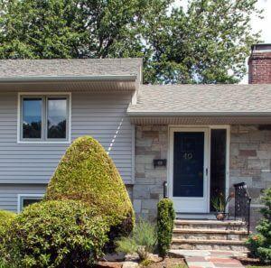 RI Home Exterior Remodel - Siding Meets Stone