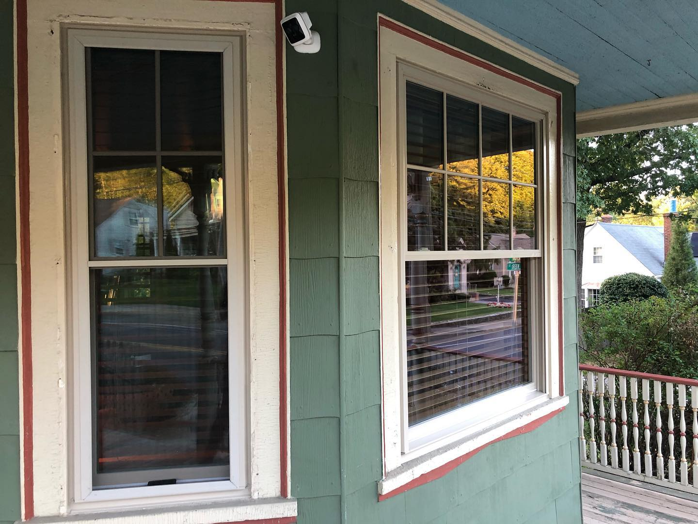 After Pictures of Window Replacement Project in Cranston, RI
