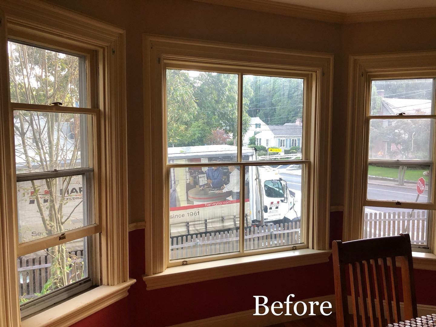 Before Pictures of Window Replacement Project in Cranston, RI