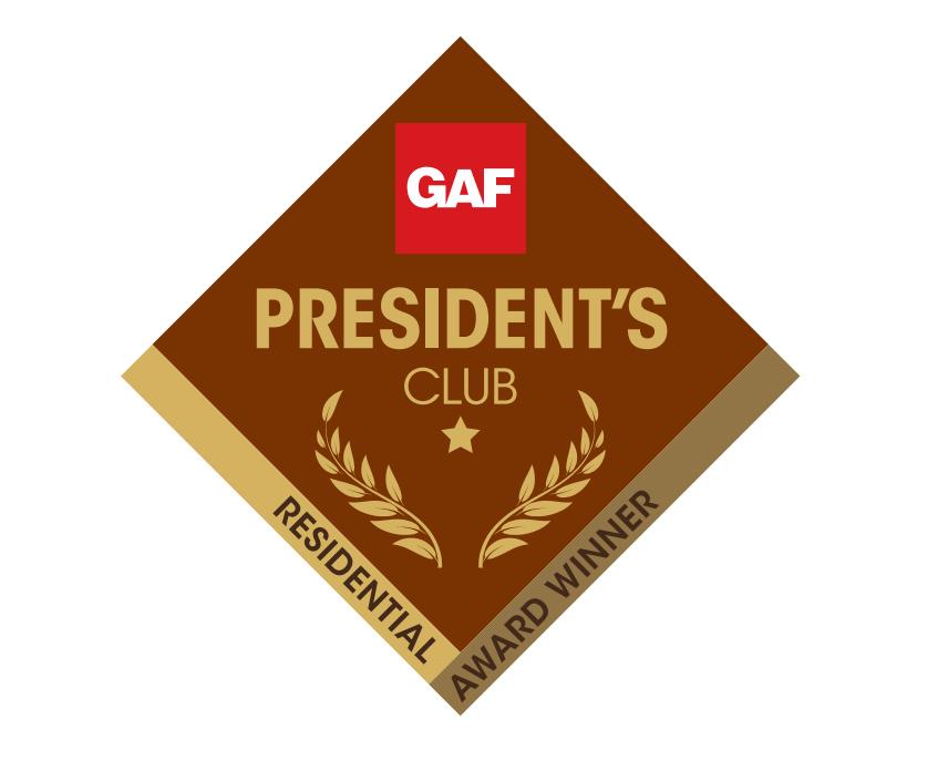 GAF President's Club Award